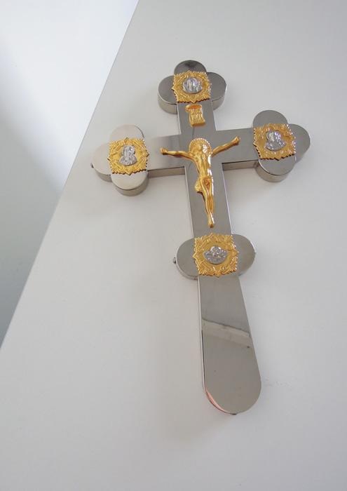 Хрест ручний №1 (нікель)